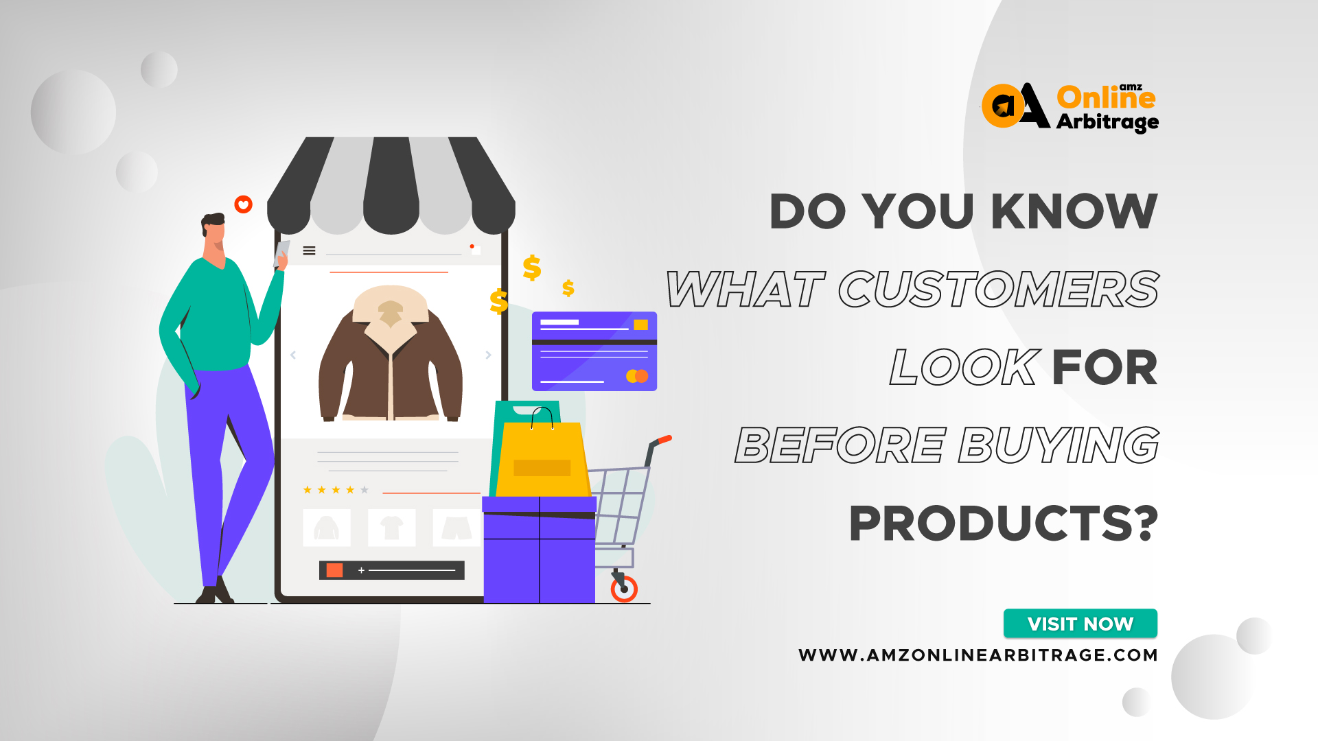 WHAT CUSTOMERS LOOK FOR BEFORE BUYING PRODUCTS?